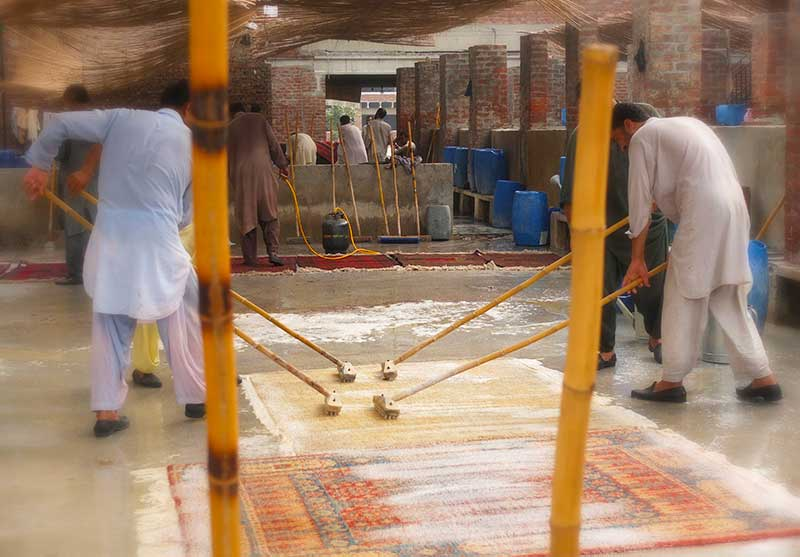 Calgary Persian Rugs, Cleaning Services 02